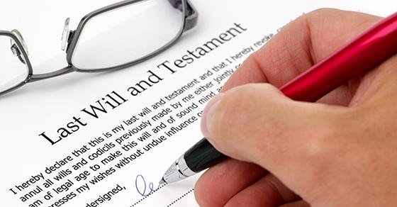 understanding a will
